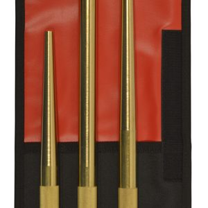 3 PC Brass Extra Long Punch Set