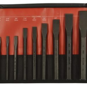 10 Piece Cold Chisel Set