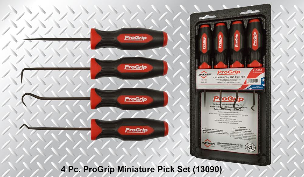 Mayhew ProGrip Miniature Pick Set