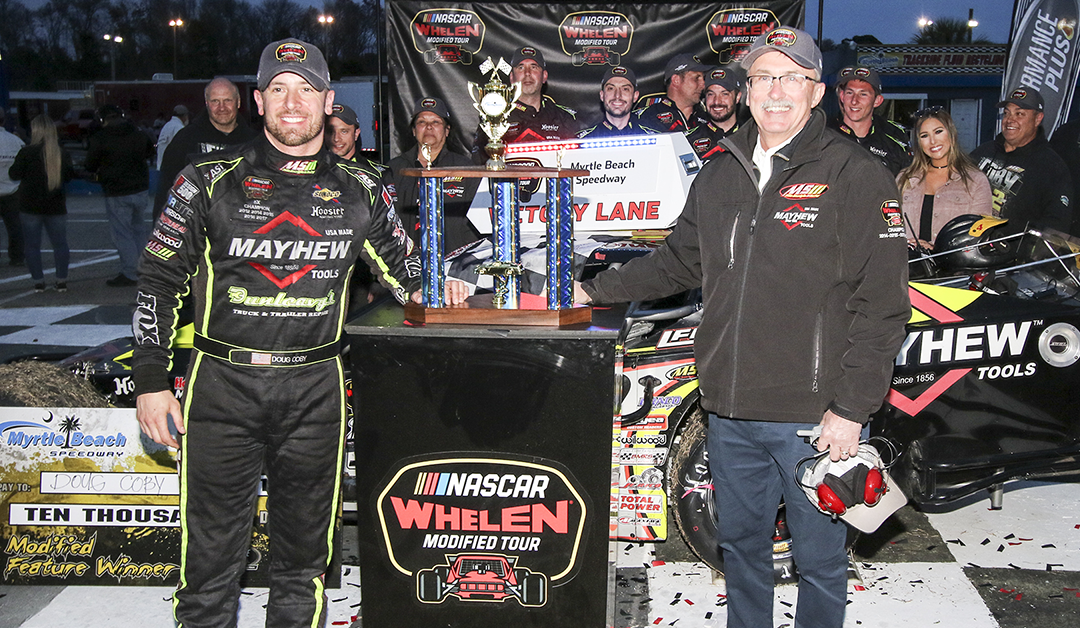 NASCAR HOME TRACKS: Doug Coby Begins Quest For Sixth Title In Victory Lane