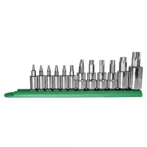 12PC Torx Socket Bit Set