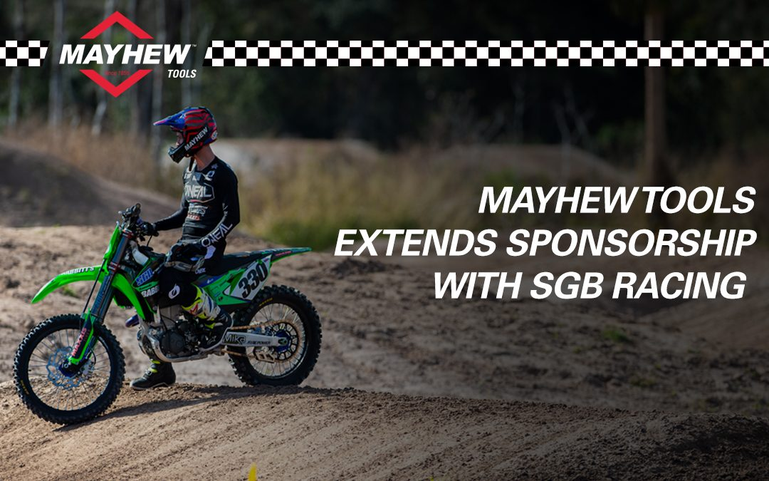 Mayhew™ Tools Extends Sponsorship with SGB Racing