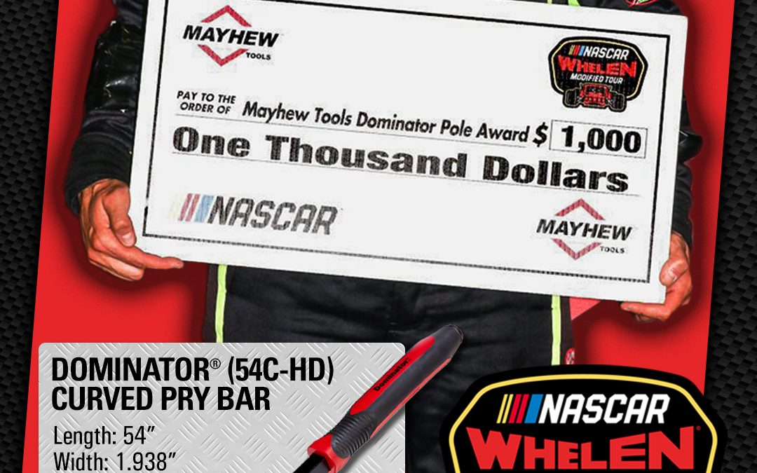 Mayhew™ to Sponsor NASCAR Whelen Modified Tour's Pole Award for the 2021 Season