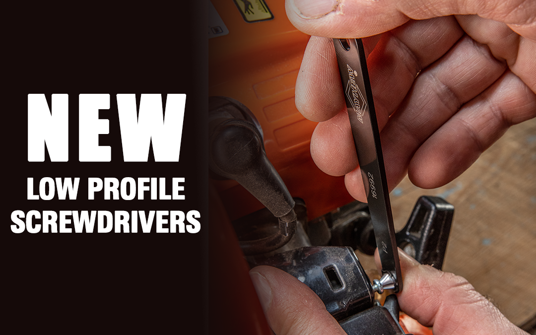 Mayhew Tools Introduces New, Low Profile Screwdrivers